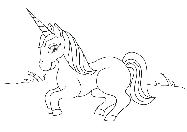 775x550 Fairy Tales Coloring Pages Printable Unicorn Horn Fairy Tales