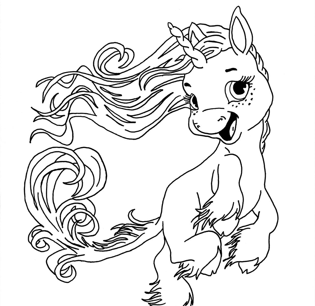 Unicorns Drawing at GetDrawings
