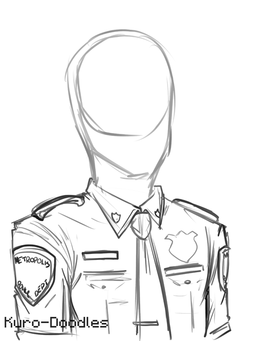 500x665 Metropolis Police Uniform By Kuro Doodles