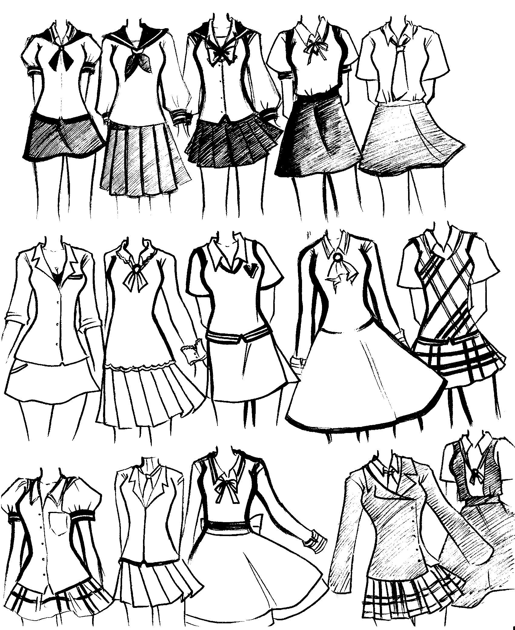 1700x2079 School Uniforms By On @