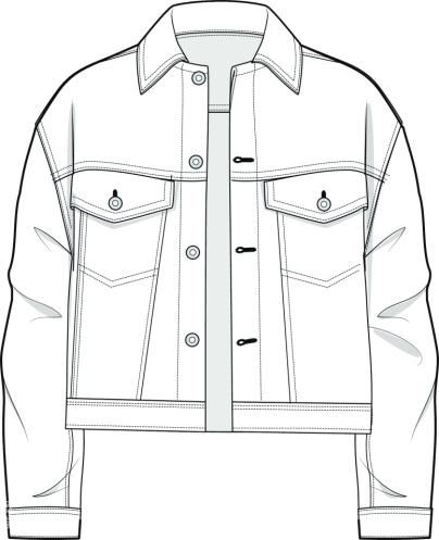 404x497 Technical Drawing Shirt
