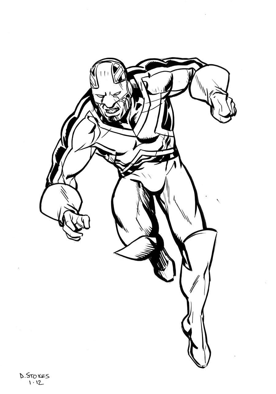 900x1284 Captain Britain By Dave Stokes Sketches Britain