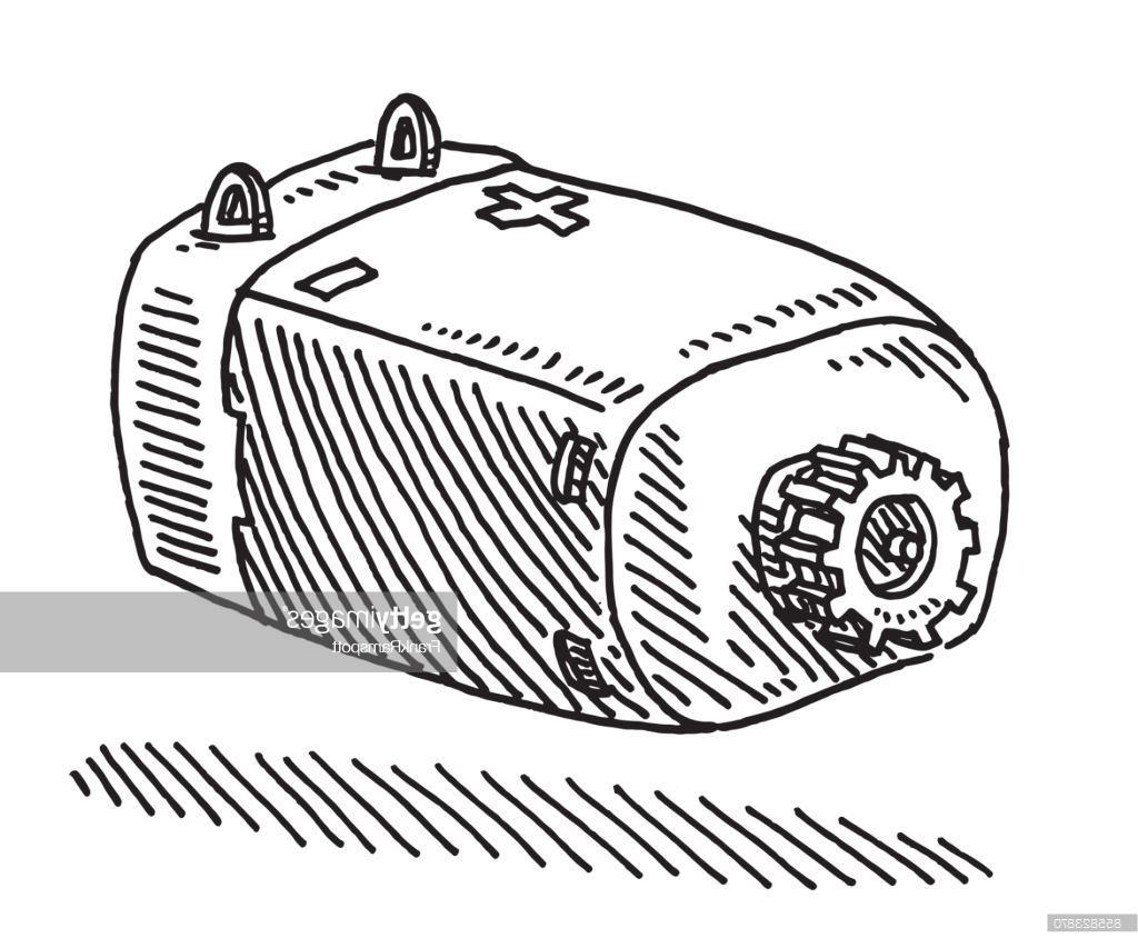 1024x853 Unique Electric Motor Drawing Vector Cdr