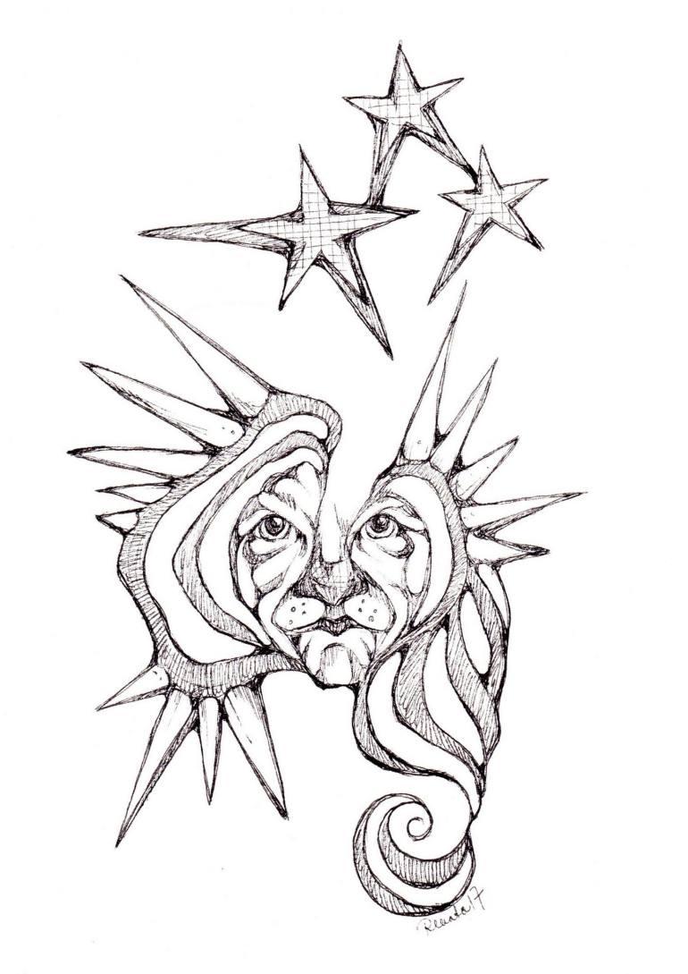 770x1089 Saatchi Art Tiger United Drawing By Renata Lombard