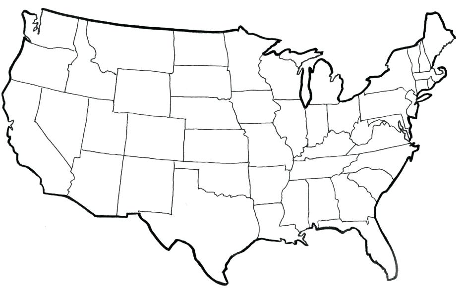 940x582 United States Of America Coloring Pages I Love Coloring Page
