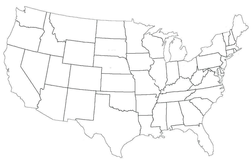 1024x665 United States Of America Coloring Pages United States Of Map