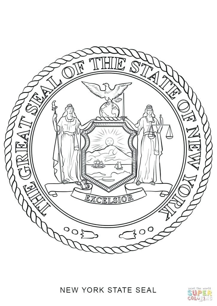 michigan state flag coloring page - united states flag drawing at free for
