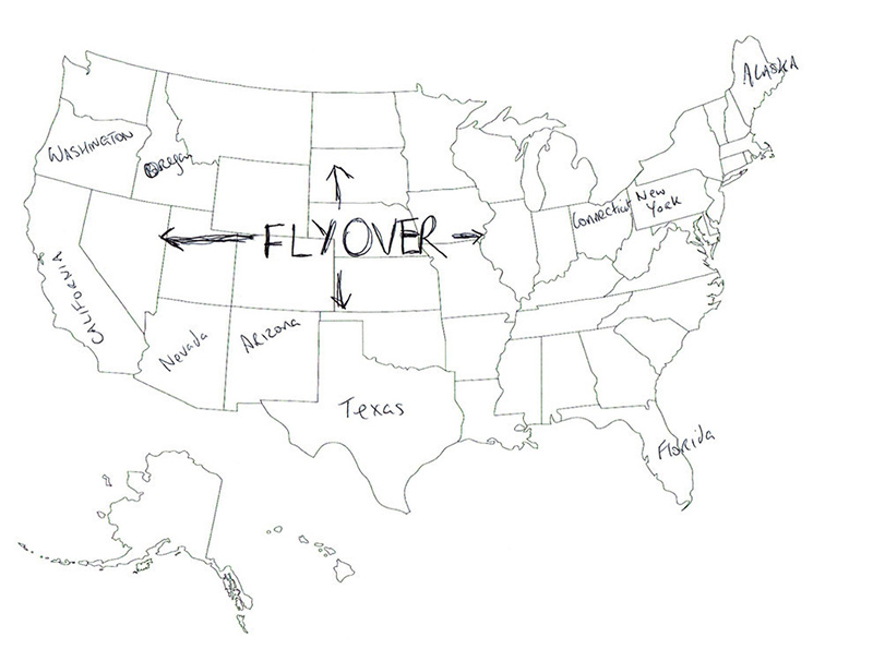 800x595 People In London Tried To Label The 50 Us States On A Map. These