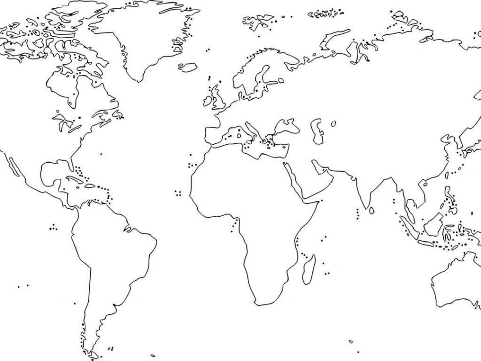 970x728 Coloring Top World Map Coloring Page Graphic Extraordinary Book