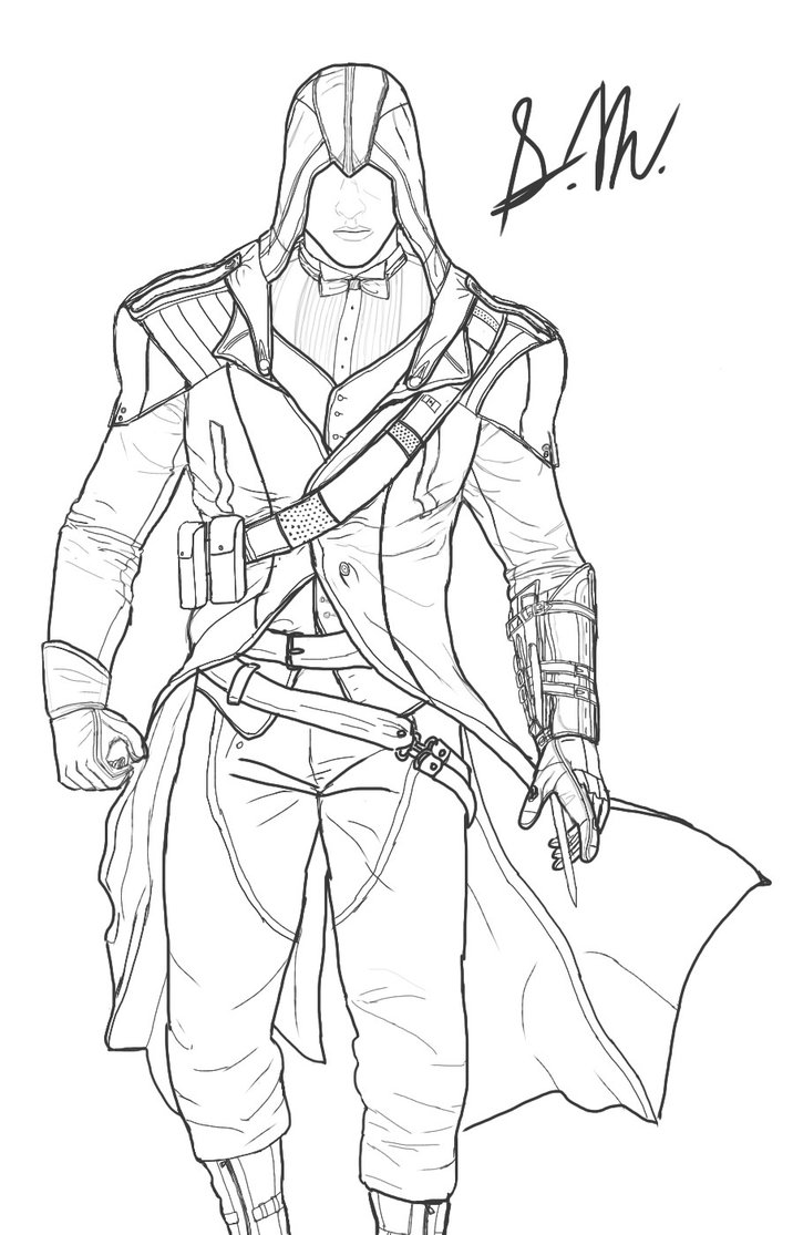 716x1115 Assassin's Creed Unity Modern Arno (Rough Sketch) By