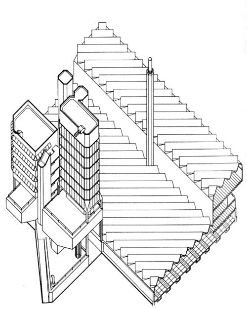 500x626 Leicester University, 1964 James Stirling 100b Exam