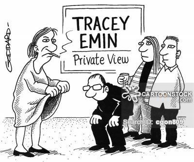 400x333 Tracey Emin Cartoons And Comics