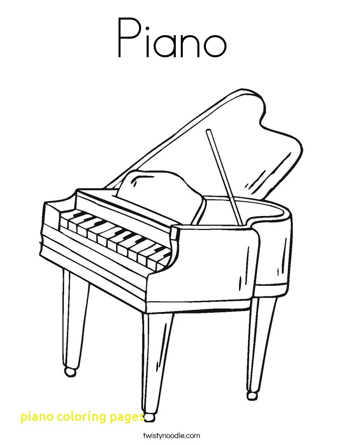685x886 Piano Coloring Pages Coloringpageforkids.co