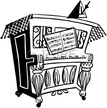 444x450 Upright Piano Royalty Free Cliparts, Vectors, And Stock