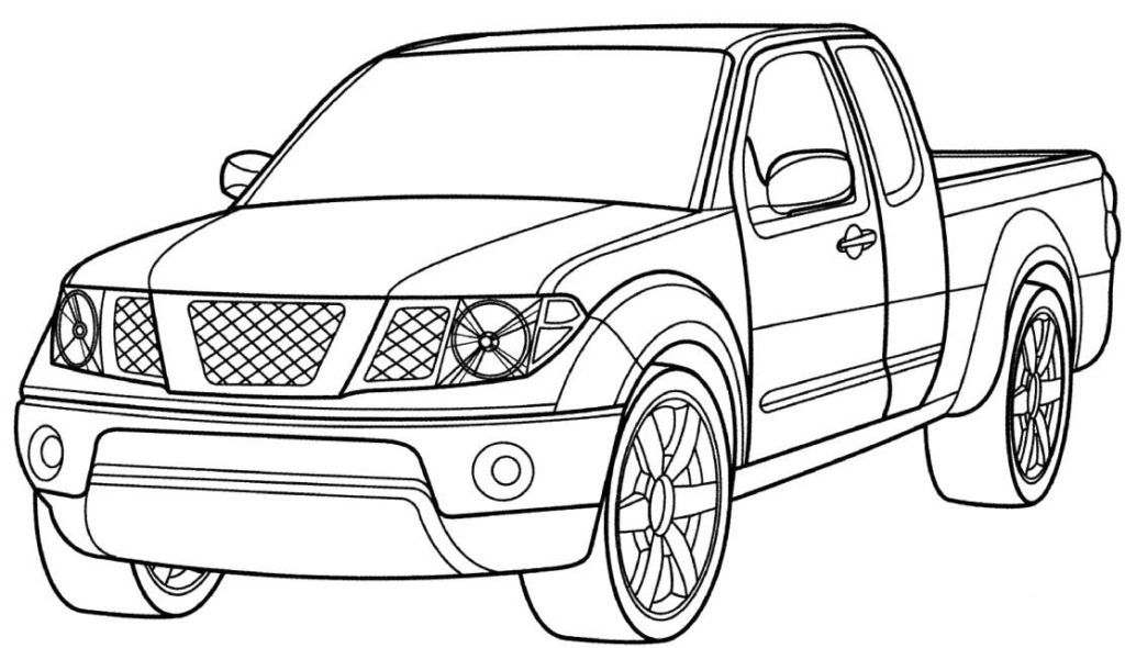 1024x590 40 Free Printable Truck Coloring Pages Download Ups Truck Coloring