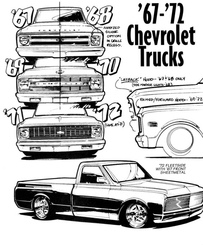 663x800 67 72 Grill Drawing Automotive Drawings And Paintings