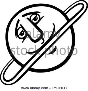 310x320 Drawing Uranus Planet Solar System Stock Vector Art Amp Illustration