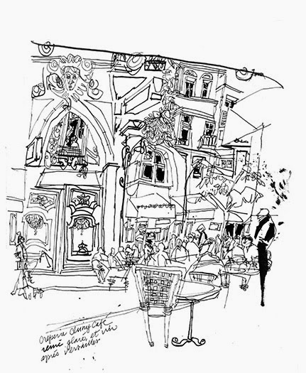 431x525 Urban Sketchers Show The World, One Drawing