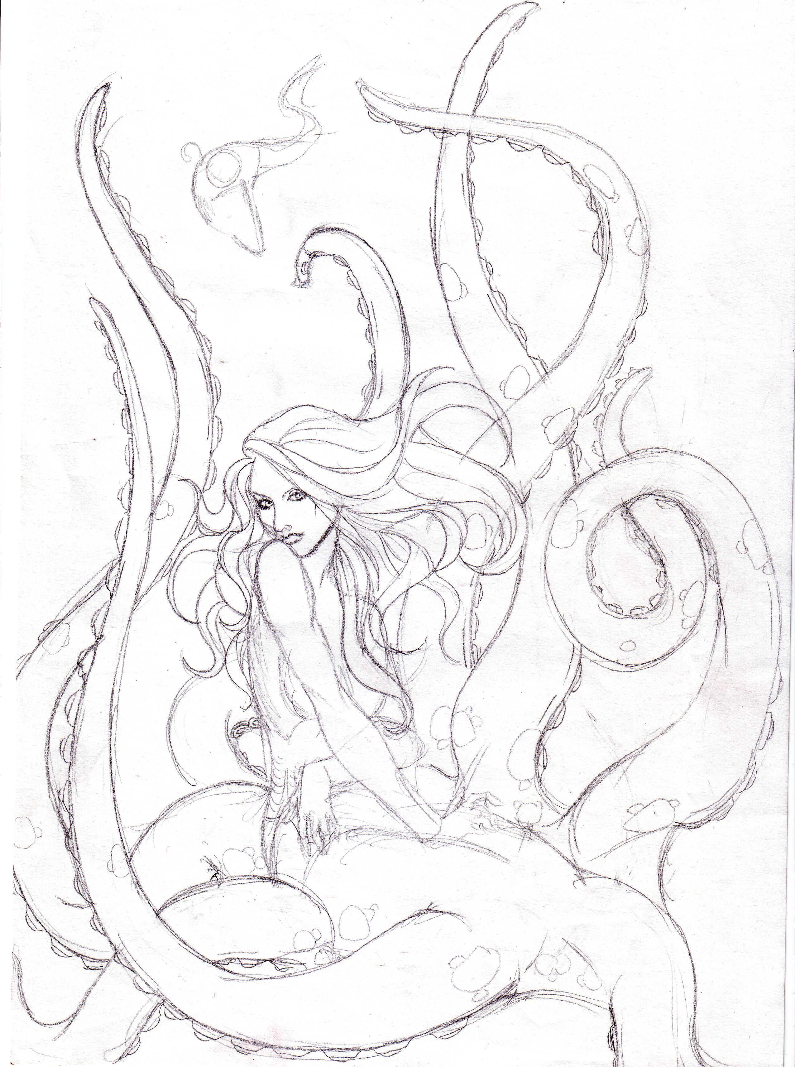 Ursula Drawing at GetDrawings.com | Free for personal use Ursula ...