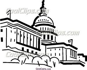 300x241 Capitol Building Clip Art