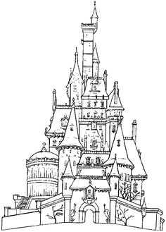 236x329 Free Printable Castle Coloring Book With 22 Famous Castles