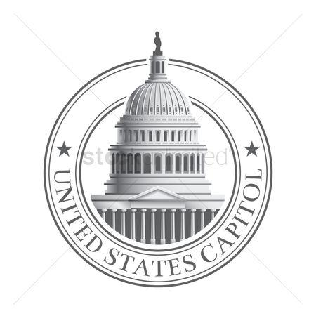 450x450 Free Us Capitol Stock Vectors Stockunlimited