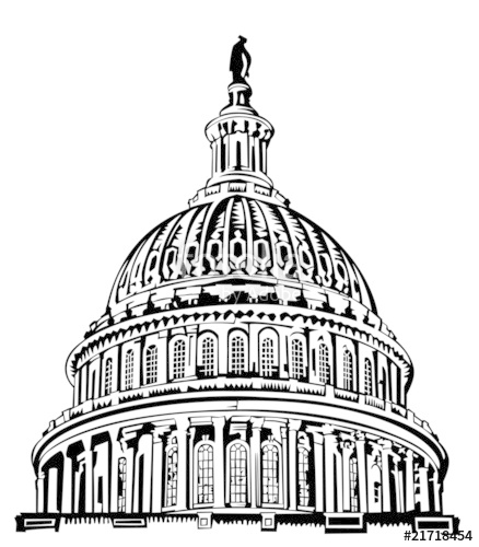 438x500 U. S. Capitol Dome Stock Image And Royalty Free Vector Files