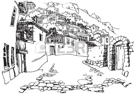 450x317 26,020 Black White Landscape Cliparts, Stock Vector