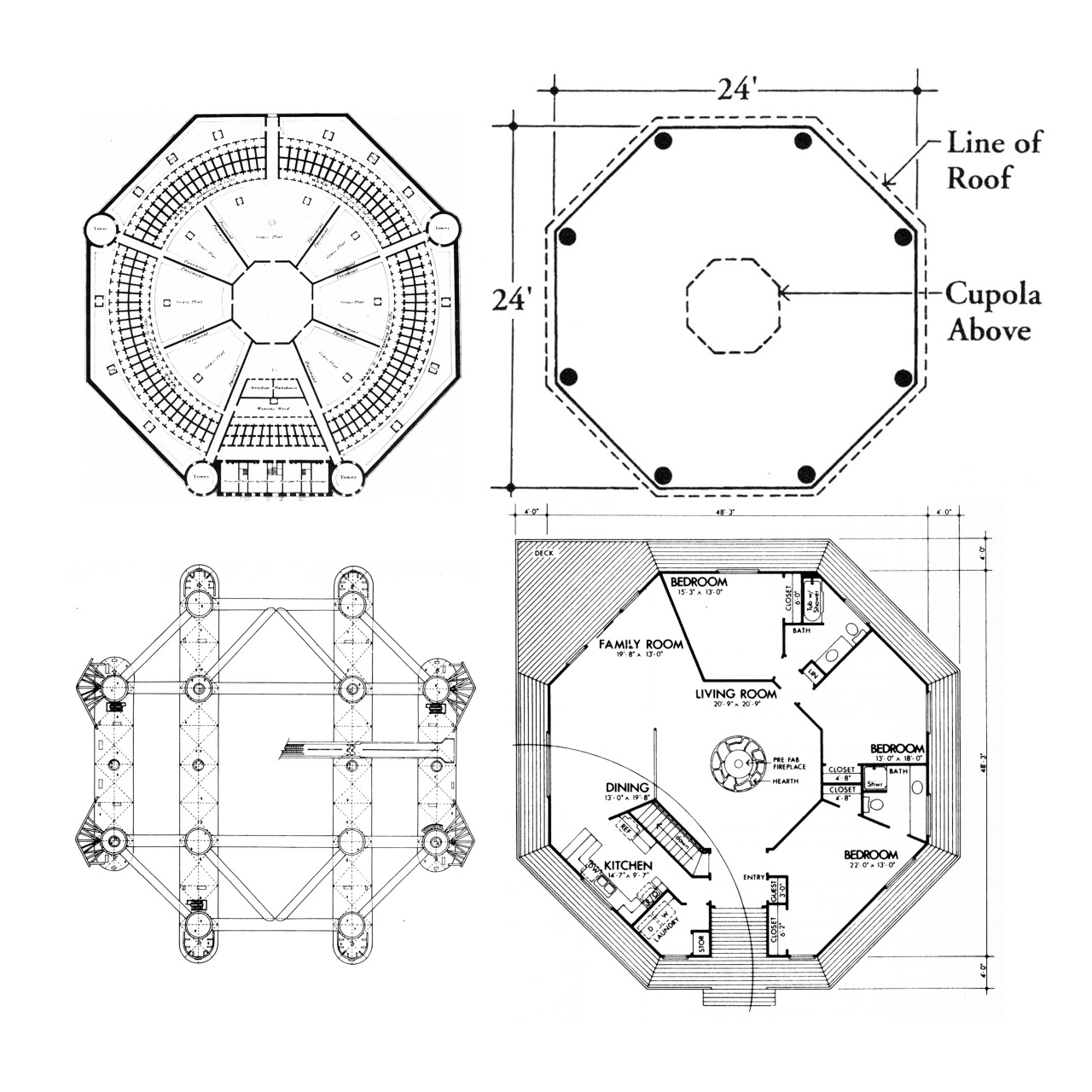 1280x1280 Architectural Drawings, Models, Photos, Etc