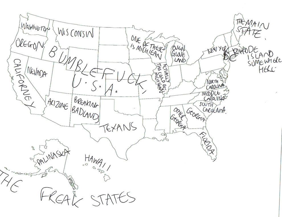 990x761 How To Draw The Us Map
