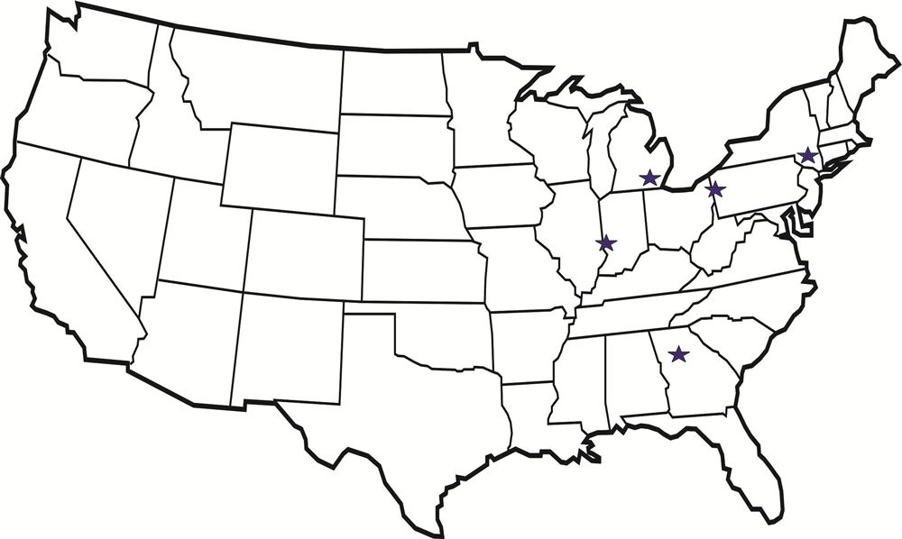 Map Of Us States Outline - Fillable-map-of-us