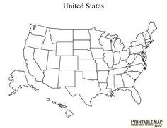 236x182 Blank Maps Of Usa Free Printable Maps Blank Map Of The United