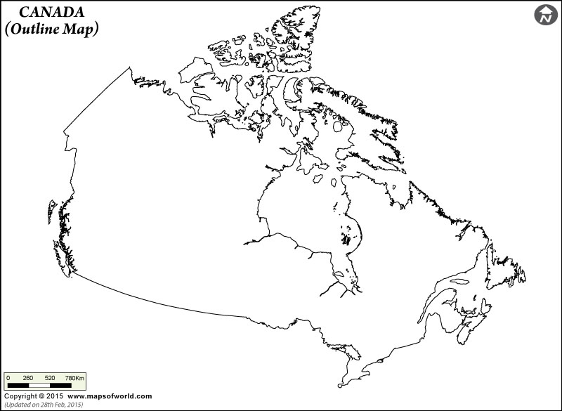 800x585 Canada Map Blank Printable Pictures Picture Of Blank Map Drawings