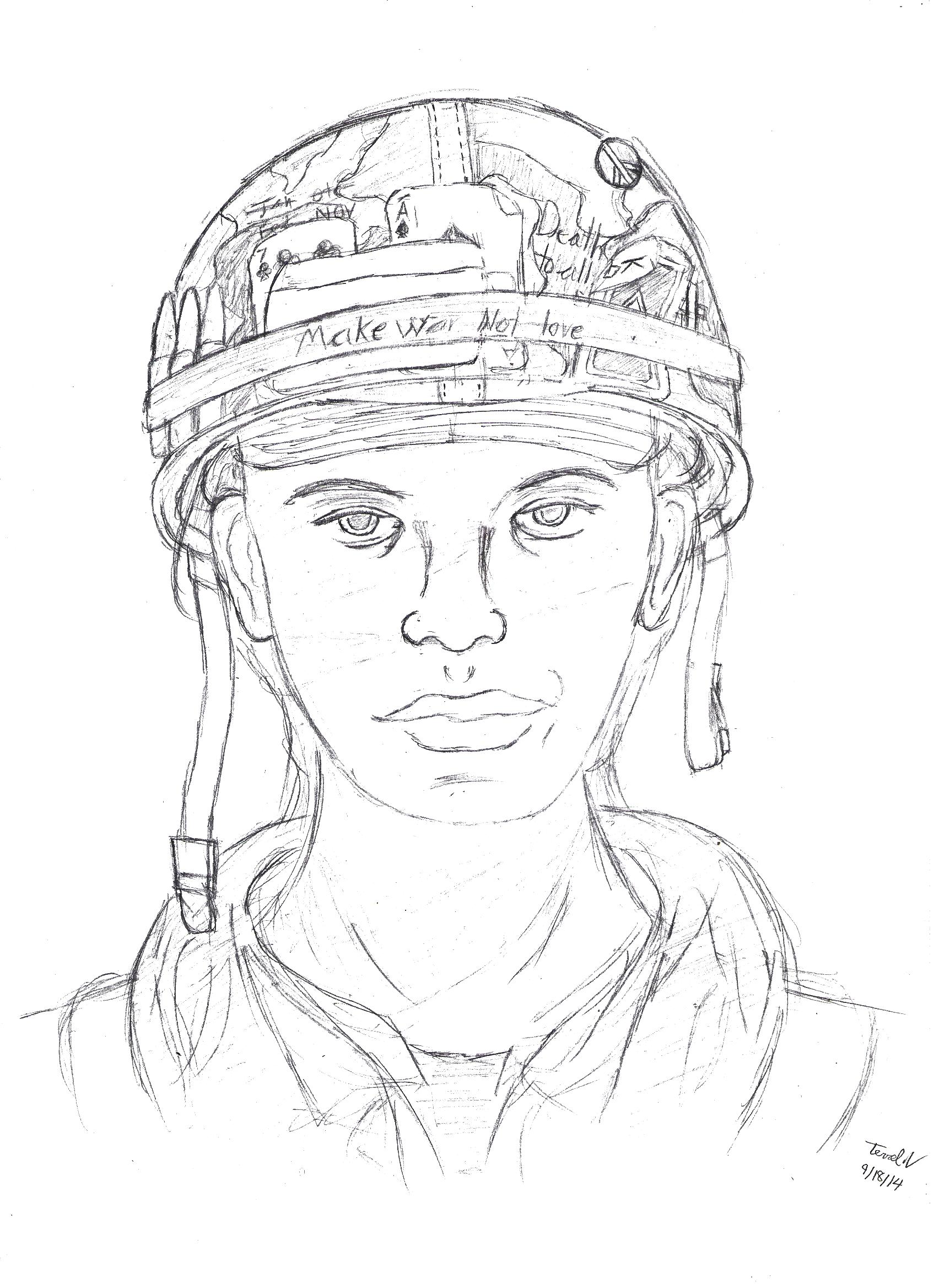 1704x2336 U.s Vietnam Soldier 2 By Terrelsmith