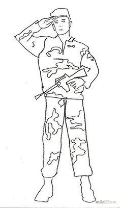 236x408 Army Soldier Drawing Us Army Soldier Drawing