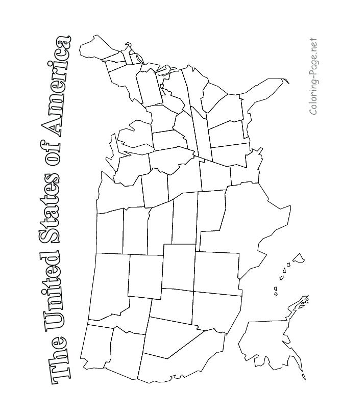 Usa Drawing Map at GetDrawings.com   Free for personal use Usa ...