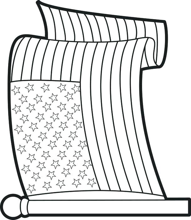 609x700 Usa Flag Coloring Page Flag Coloring Book American Flag Coloring