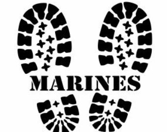 340x270 Love Guns Ega Decal Usmc United States Marine Marine Corp