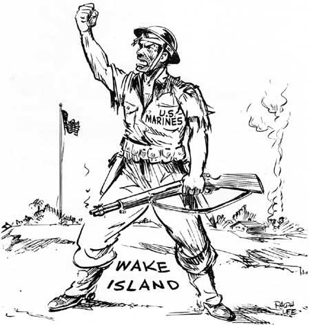 450x471 Marines In Combat The Battle Of Wake Island