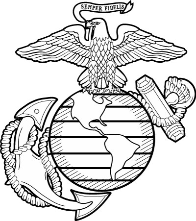 400x451 The Marine Corps Emblem Elements And Meaning