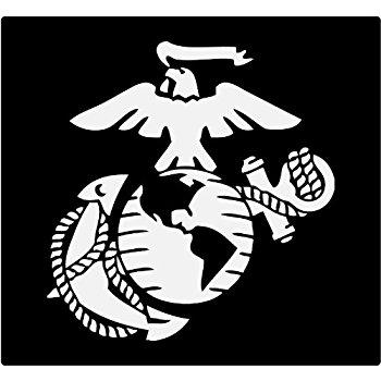 Usmc Emblem Drawing
