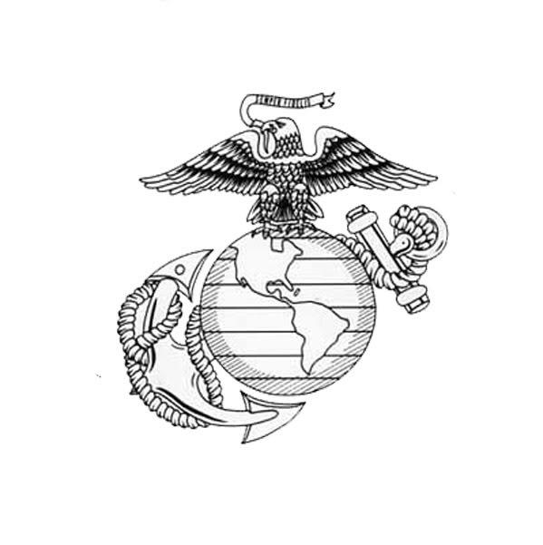 599x601 Marine Clipart Marine Corps