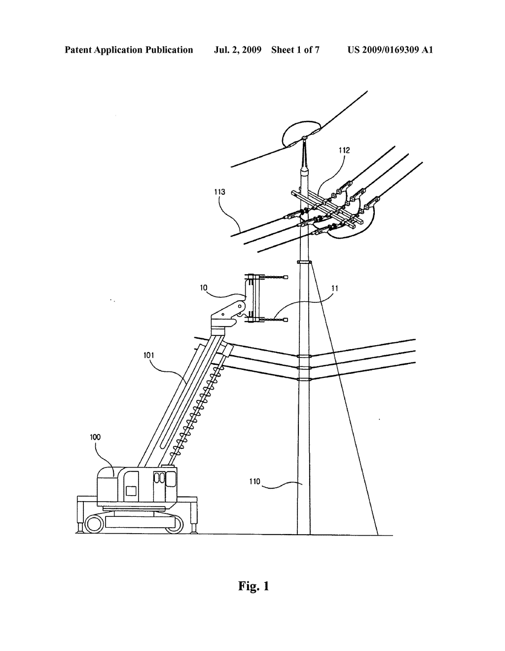 1024x1320 Method For Replacing Concrete Utility Pole Without Interrupting