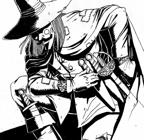 504x491 Mended Arrow Design Blog V For Vendetta Fan Art Piece