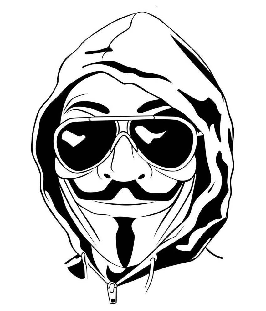 850x995 Trends On Wall Vendetta Sticker