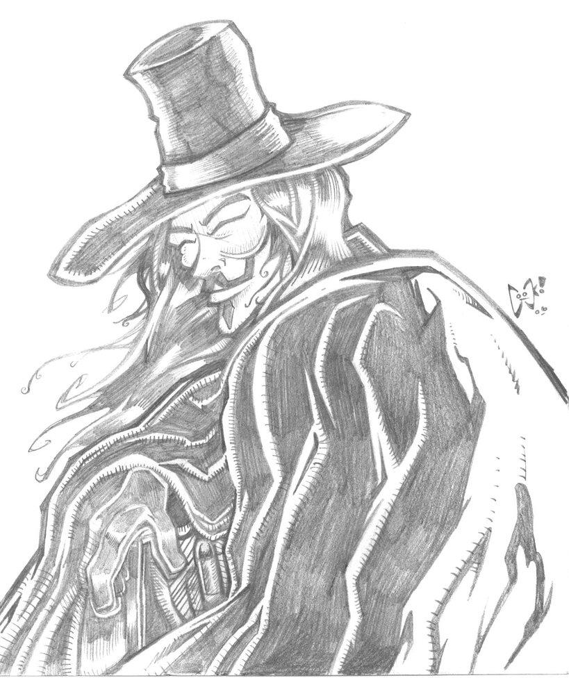 819x976 V For Vendetta By Joelcook