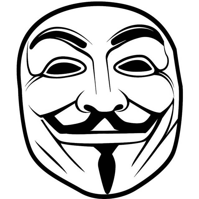 640x640 You Are Anonymous Anonymous Vector Mask