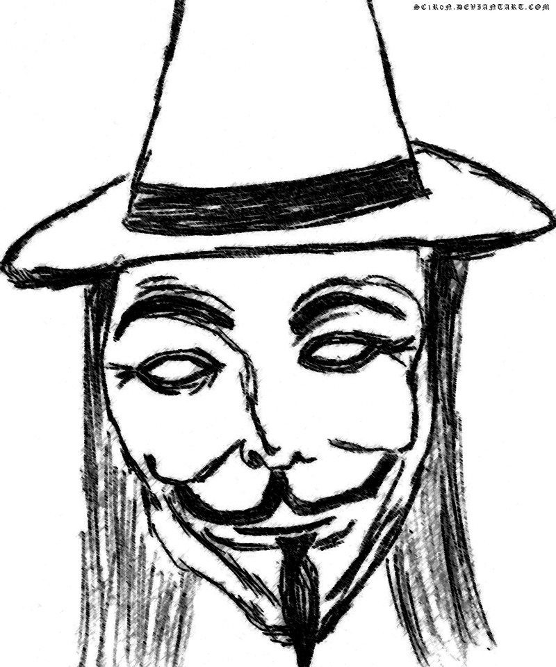 800x959 How To Draw Guy Fawkes Page 2 Pictures To Pin