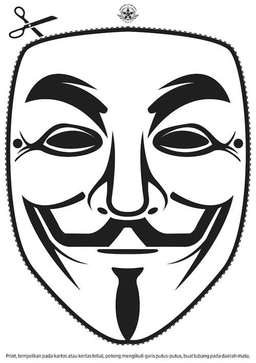 500x708 Imprime Tu Propia Mascara De V For Vendetta Cool Stuff