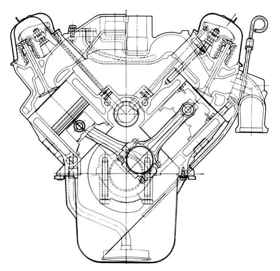 V8 Engine Drawing At Free For Personal Use Diagram 912x882 No Limits Magazine